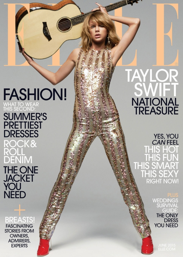 US Elle June 2015 Taylor Swift by Michael Thompson