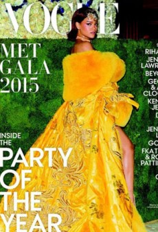 Rihanna Covers Vogue's Met Gala Special Edition, Obviously (Forum Buzz)