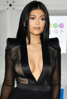 Kylie Jenner Sparks and Debunks Boob Job Rumours After Wearing Revealing Dress