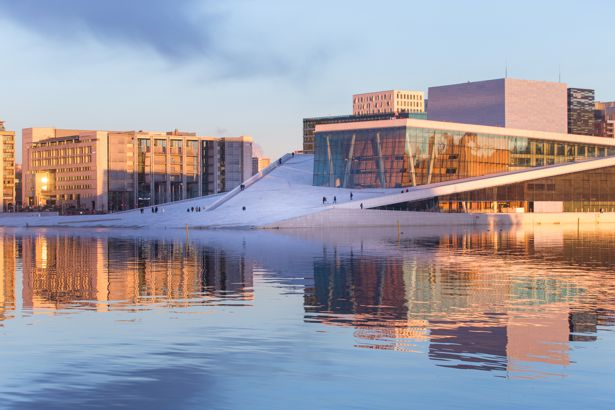 Oslo, Norway Opera House