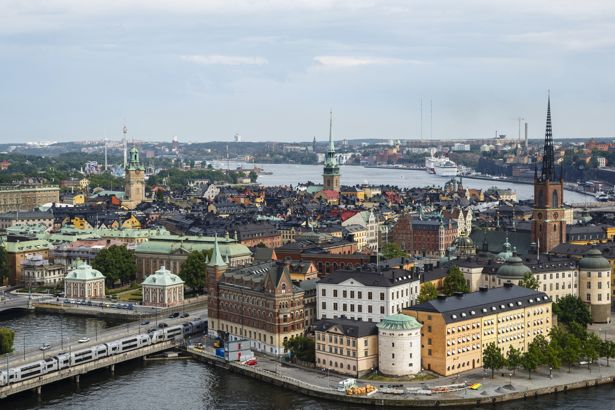 Skyline of Stockholm, Sweden