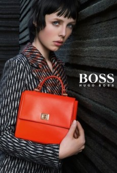 Yawn: Edie Campbell Fronts Hugo Boss' Fall 2015 Campaign (Forum Buzz)