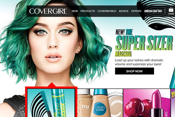 Image: Covergirl.com