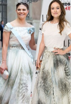 Style Showdown: Crown Princess Victoria of Sweden and Olivia Wilde Wear H&M and More Matching Celebs