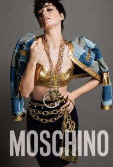 Katy Perry Is the Face of Moschino