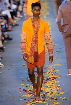Missoni Men's Spring 2016 Runway