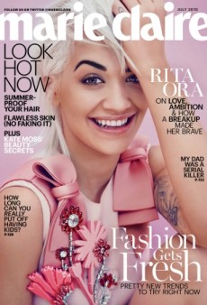 Why Is Rita Ora on Marie Claire's July 2015 Cover? (Forum Buzz)