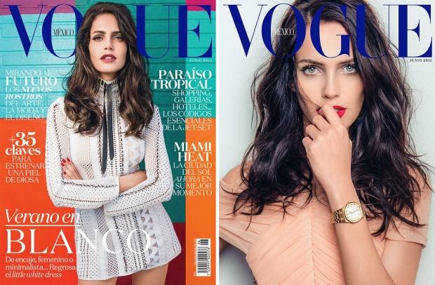 Vogue Mexico June 2015 Amanda Wellsh by Jacques Dequeker