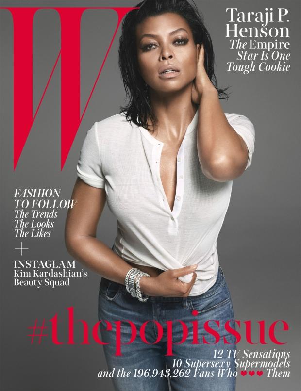 W Magazine August 2015 Taraji P. Henson by Mert & Marcus