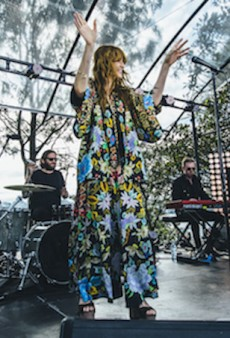 Florence Welch Is Already Winning Splendour Style and She's Not Even There Yet