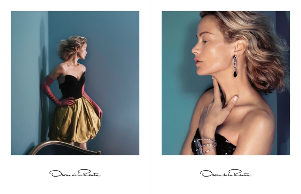 Oscar de la Renta Fall 2015 Ad Campaign Carolyn Murphy by David Sims