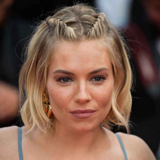 Miraculous Sienna Miller Shows Us How To Grow Out Bangs Gracefully Hairstyle Inspiration Daily Dogsangcom