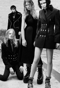 Alexander Wang's Fall Campaign Is Too Crowded and 'Goth' (Forum Buzz)