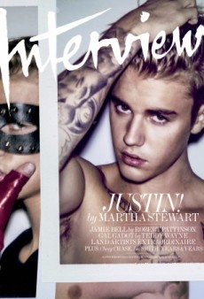 Justin Bieber as You've Never Seen Him Before for Interview Magazine (Forum Buzz)