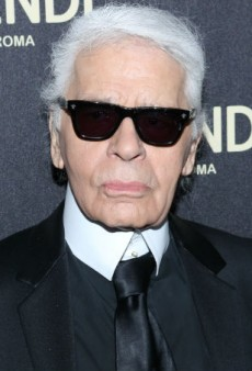 Karl Lagerfeld Realizes How Distinct His Look Is