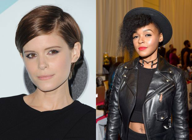 Kate Mara flaunting her pixie perfection and Janelle Monáe rocking an undercut
