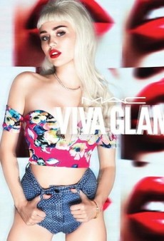 Miley Cyrus Transforms Into a Blonde Bombshell for Second MAC Viva Glam Campaign