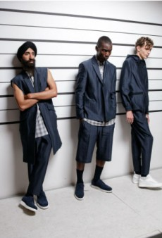 Public School Shows Spring 2016 Presentation Against a Police Lineup