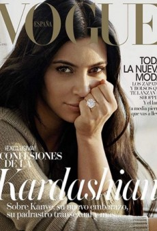 Kim Kardashian Looks Remarkably Low-Key on the Cover of Vogue Spain for August (Forum Buzz)