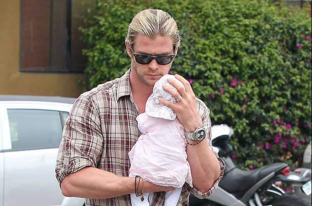 Chris Hemsworth Dad