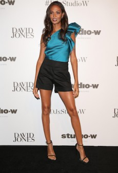 Models Seriously Up Their Game for Joan Smalls' David Jones Visit