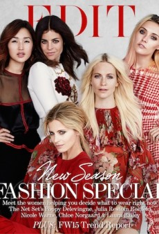 Fashion's Finest Talk Social Media for Net-a-Porter's The EDIT Cover