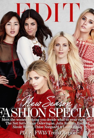 The Cover - Poppy Delevingne, Laura Bailey, Chloe Norgaard, Julia Restoin Roitfeld and Nicole Warne-310