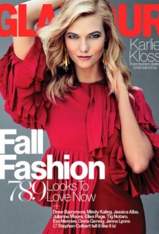 Even Karlie Kloss Can't Save the Hideous Gucci Dress on Glamour's September Cover (Forum Buzz)