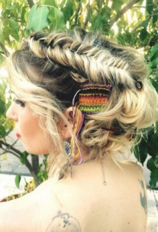 A Different Kind of Hair Weave: Hair Tapestries Are All the Rage on Instagram