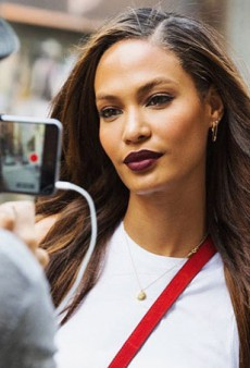 Joan Smalls' New Estée Lauder Lipstick Range Was Inspired by Her Met Gala Beauty Look