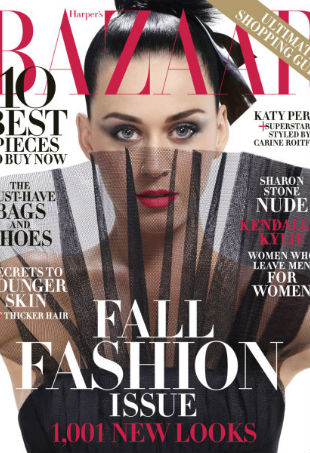 Katy Perry Harper's Bazaar September 2015 Cover