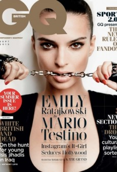 Emily Ratajkowski Tries (and Fails) to Seduce Us on British GQ's Cover (Forum Buzz)