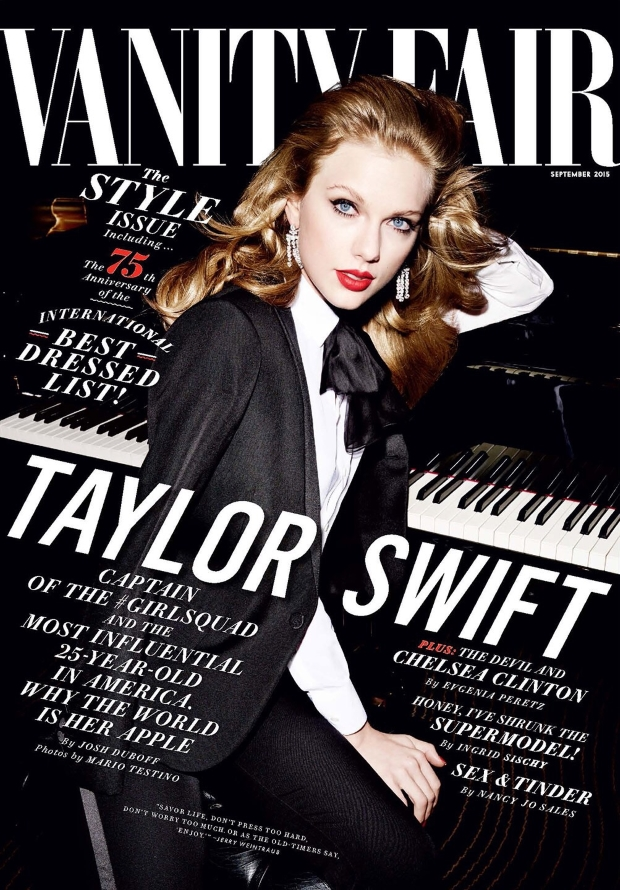 Vanity Fair September 2015 Taylor Swift by Mario Testino