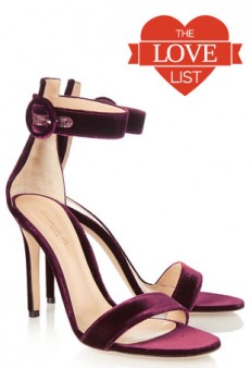 Velvet Shoes Make a Comeback: The Love List