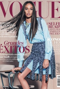 Joan Smalls Isn't Your Average School Teacher on Vogue Mexico (Forum Buzz)