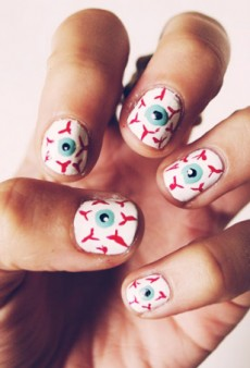 The 12 Best Halloween Nail Art Ideas on Pinterest