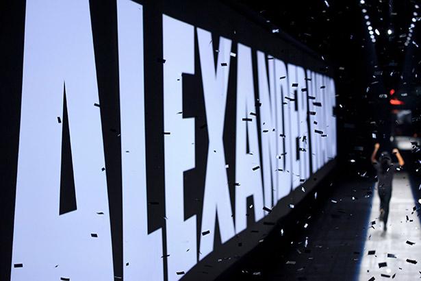 Alexander Wang Spring 2016 runway