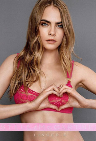 Cara Delevingne Stella McCartney Breast Cancer