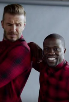 Peep the Trailer for David Beckham and Kevin Hart's H&M Commercial