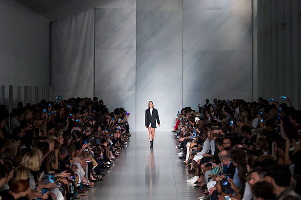 DKNY Spring 2016 runway