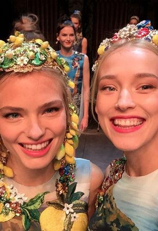 Dolce Gabbana selfie p
