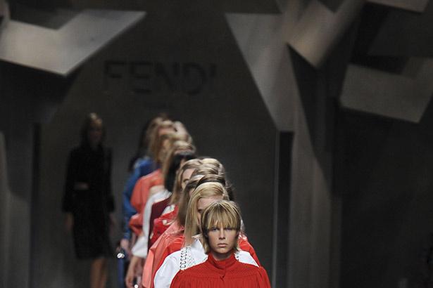 Fendi Spring 2016 runway