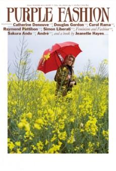 Catherine Deneuve Captivates on Purple Fashion's Cinematic Fall Cover (Forum Buzz)