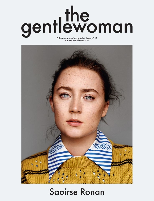 The Gentlewoman Fall 2015 Saoirse Ronan by Alasdair McLellan