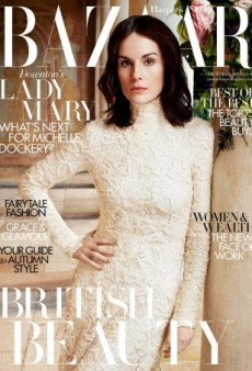 Michelle Dockery Looks 'Bored As Hell' on UK Harper's Bazaar (Forum Buzz)