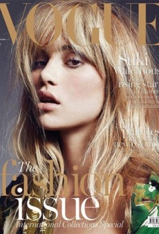 Suki Waterhouse Tries to Eat Her Hair on the Cover of Vogue Thailand (Forum Buzz)