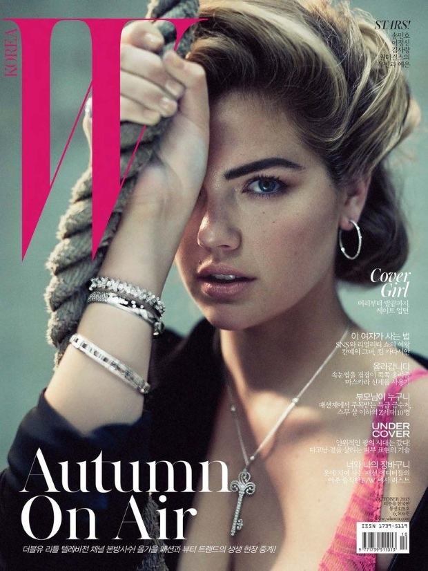W Korea October 2015 Kate Upton by Norman Jean Roy