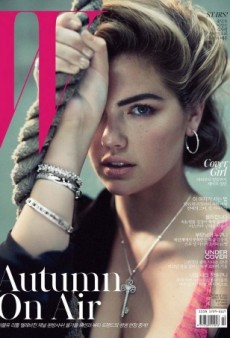 Kate Upton as You've Never Seen Her Before on W Korea (Forum Buzz)