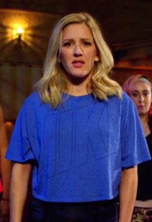 Ellie Goulding activewear