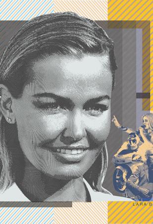 Lara Bingle 50 dollar note